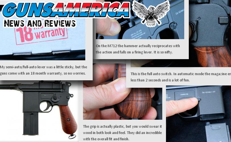 GunsAmerica: Gletcher M712 is a nearly perfect Mauser replica